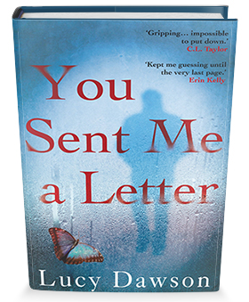 You sent me a letter book